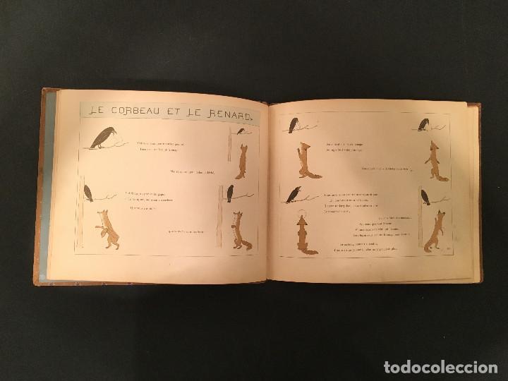 Libros antiguos: 1888 LA FONTAINE & BOUTET de MONVEL: Fables choisies pour les enfants et illustrées - FABULAS - Foto 10 - 62598792