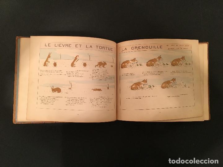 Libros antiguos: 1888 LA FONTAINE & BOUTET de MONVEL: Fables choisies pour les enfants et illustrées - FABULAS - Foto 11 - 62598792