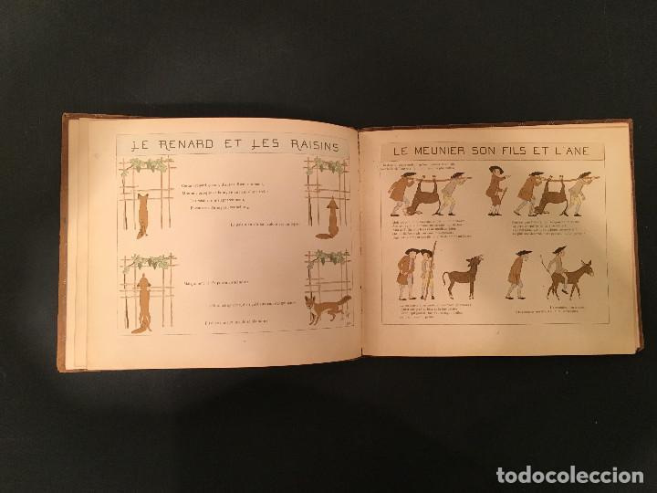 Libros antiguos: 1888 LA FONTAINE & BOUTET de MONVEL: Fables choisies pour les enfants et illustrées - FABULAS - Foto 13 - 62598792