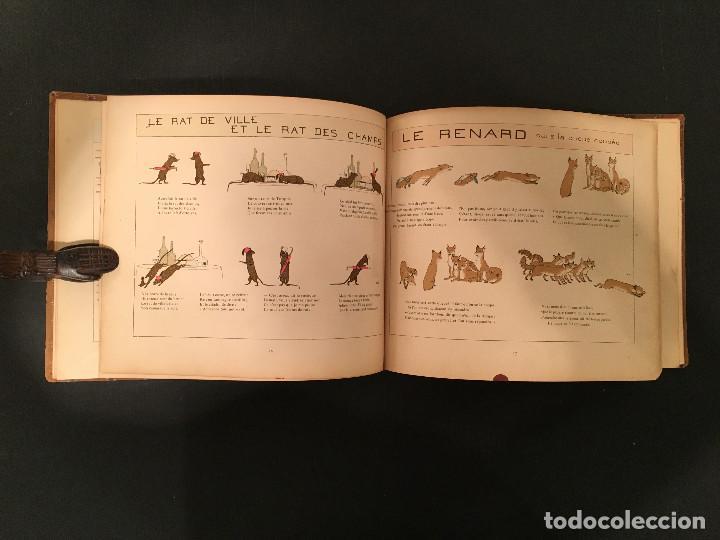 Libros antiguos: 1888 LA FONTAINE & BOUTET de MONVEL: Fables choisies pour les enfants et illustrées - FABULAS - Foto 15 - 62598792