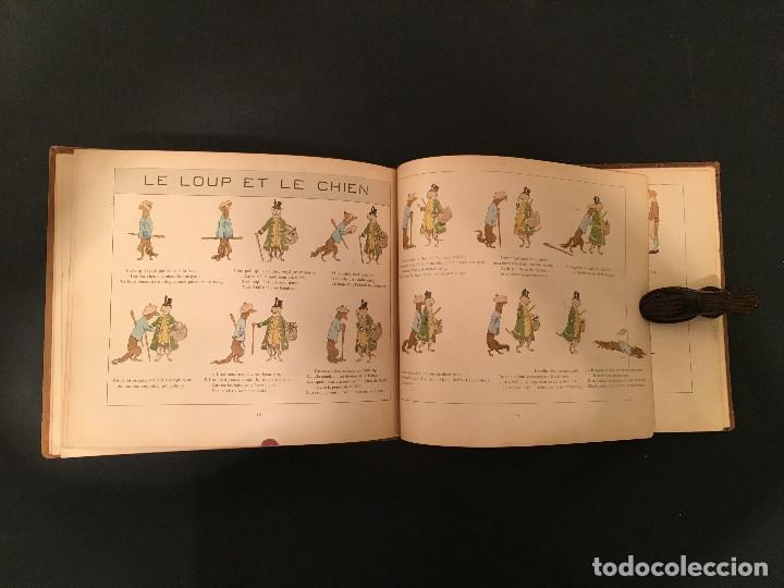 Libros antiguos: 1888 LA FONTAINE & BOUTET de MONVEL: Fables choisies pour les enfants et illustrées - FABULAS - Foto 16 - 62598792