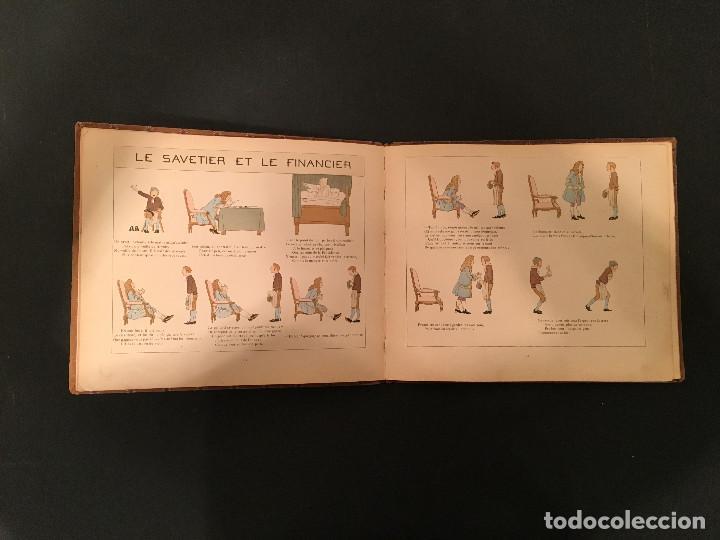 Libros antiguos: 1888 LA FONTAINE & BOUTET de MONVEL: Fables choisies pour les enfants et illustrées - FABULAS - Foto 17 - 62598792
