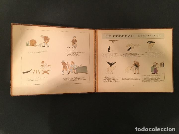 Libros antiguos: 1888 LA FONTAINE & BOUTET de MONVEL: Fables choisies pour les enfants et illustrées - FABULAS - Foto 18 - 62598792