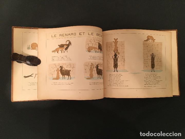 Libros antiguos: 1888 LA FONTAINE & BOUTET de MONVEL: Fables choisies pour les enfants et illustrées - FABULAS - Foto 19 - 62598792