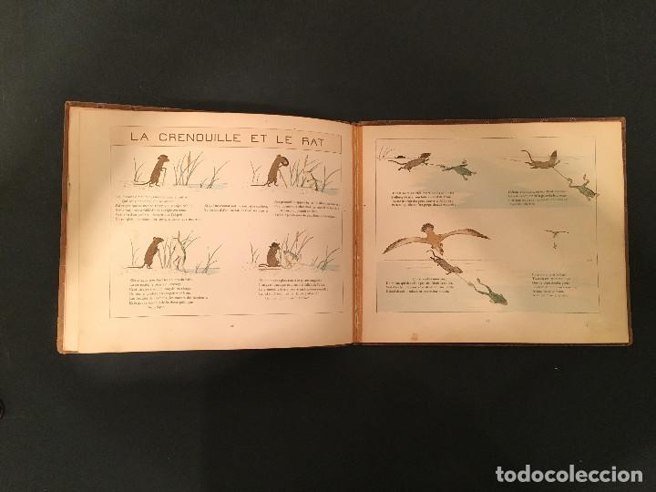 Libros antiguos: 1888 LA FONTAINE & BOUTET de MONVEL: Fables choisies pour les enfants et illustrées - FABULAS - Foto 20 - 62598792
