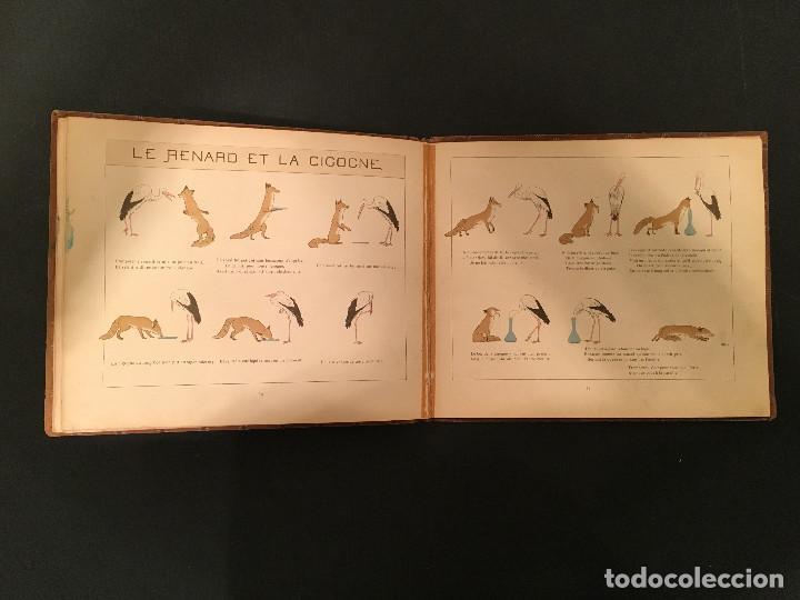 Libros antiguos: 1888 LA FONTAINE & BOUTET de MONVEL: Fables choisies pour les enfants et illustrées - FABULAS - Foto 22 - 62598792