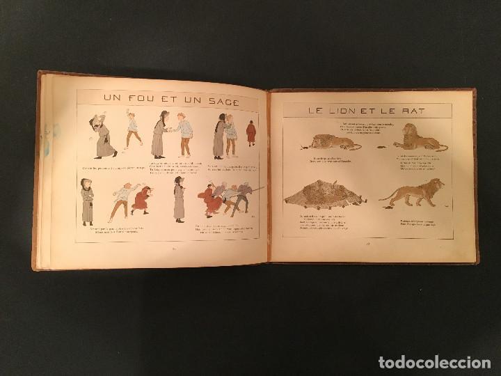 Libros antiguos: 1888 LA FONTAINE & BOUTET de MONVEL: Fables choisies pour les enfants et illustrées - FABULAS - Foto 23 - 62598792