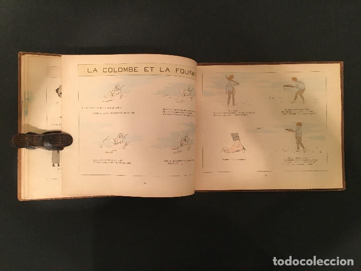 Libros antiguos: 1888 LA FONTAINE & BOUTET de MONVEL: Fables choisies pour les enfants et illustrées - FABULAS - Foto 24 - 62598792