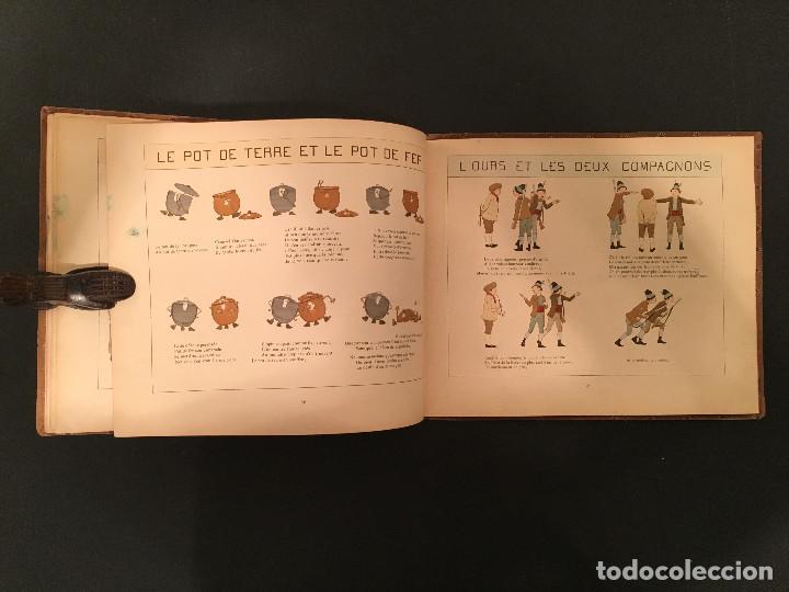 Libros antiguos: 1888 LA FONTAINE & BOUTET de MONVEL: Fables choisies pour les enfants et illustrées - FABULAS - Foto 25 - 62598792