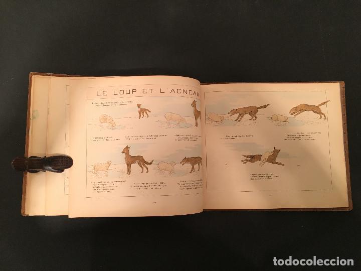 Libros antiguos: 1888 LA FONTAINE & BOUTET de MONVEL: Fables choisies pour les enfants et illustrées - FABULAS - Foto 27 - 62598792