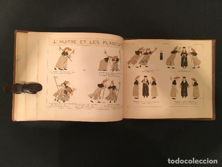 Libros antiguos: 1888 LA FONTAINE & BOUTET de MONVEL: Fables choisies pour les enfants et illustrées - FABULAS - Foto 28 - 62598792