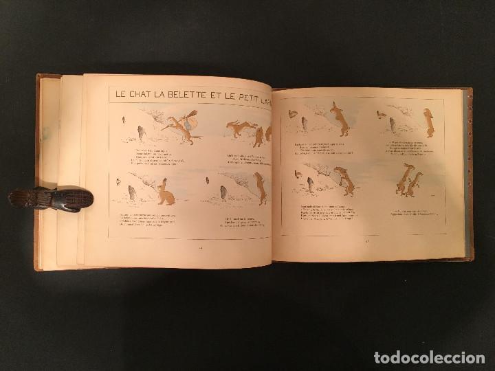 Libros antiguos: 1888 LA FONTAINE & BOUTET de MONVEL: Fables choisies pour les enfants et illustrées - FABULAS - Foto 29 - 62598792