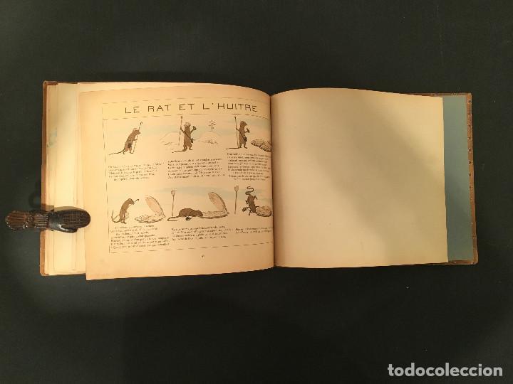 Libros antiguos: 1888 LA FONTAINE & BOUTET de MONVEL: Fables choisies pour les enfants et illustrées - FABULAS - Foto 31 - 62598792