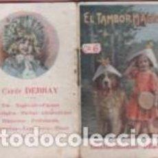 Libri antichi: MINI CUENTO PUBLICIDAD CAFÉS DEBRAY - Nº C 6 DE GASSO HNOS - EL TAMBOR MAGICO. Lote 62627368