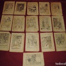 Libros antiguos: MAGNIFICOS 16 EJEMPLARES DE COLECCION EN PATUFET,TODOS ILUSTRADOS POR OPISSO. Lote 63026316