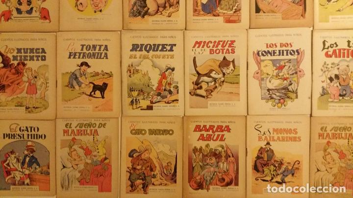 LOTE DE 24 CUENTOS PUBLICADOS POR RAMON SOPENA DENTRO DE LA COLECCION CUENTOS ILUSTRADOS PARA NIÑOS. (Libros Antiguos, Raros y Curiosos - Literatura Infantil y Juvenil - Cuentos)