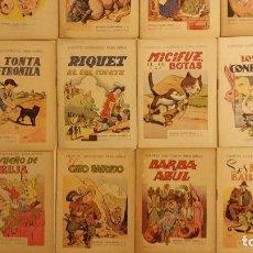 Libros antiguos: LOTE DE 24 CUENTOS PUBLICADOS POR RAMON SOPENA DENTRO DE LA COLECCION CUENTOS ILUSTRADOS PARA NIÑOS.. Lote 63031072