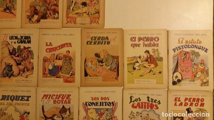 Libros antiguos: Lote de 24 cuentos publicados por Ramon Sopena dentro de la coleccion Cuentos Ilustrados para Niños. - Foto 2 - 63031072