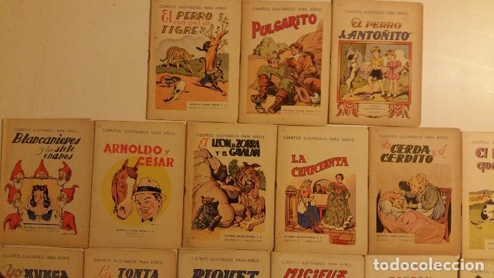 Libros antiguos: Lote de 24 cuentos publicados por Ramon Sopena dentro de la coleccion Cuentos Ilustrados para Niños. - Foto 4 - 63031072