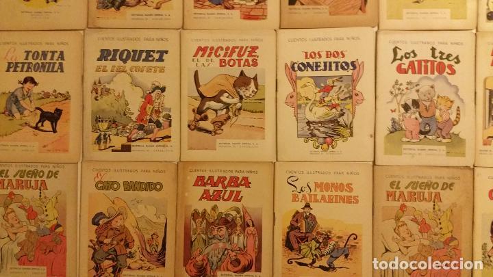 Libros antiguos: Lote de 24 cuentos publicados por Ramon Sopena dentro de la coleccion Cuentos Ilustrados para Niños. - Foto 5 - 63031072