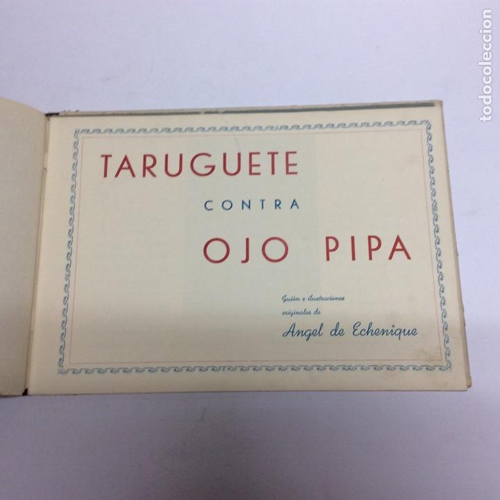 Libros antiguos: AVENTURAS DE TARUGUETE CONTRA OJO-PIPA /POR: ANGEL DE ECHENIQUE - EDITA: EDITORIAL RADIO - Foto 2 - 160553016