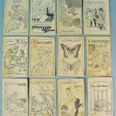 Libros antiguos: COLECCIÓN 12 EJEMPLARES DE PATUFET. AÑOS 20. Lote 63174468