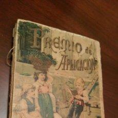 Libros antiguos: LIBRO DE CUENTOS S. CALLEJA. AÑO 1896. PREMIO DE APLICACIÓN.. Lote 63600920