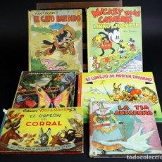 Libros antiguos - 8105 - EDITORIAL MOLINO. 6 EJEMPLARES. (VER DESCRIPCIÓN). VV. AA. 1935/1947. - 63912419