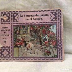 Libros antiguos: LIBROS ARTÍSTICOS DE CUENTOS N 1..LA HERMOSA DURMIENTE EN EL BOSQUE CON DEFECTO. Lote 63983219