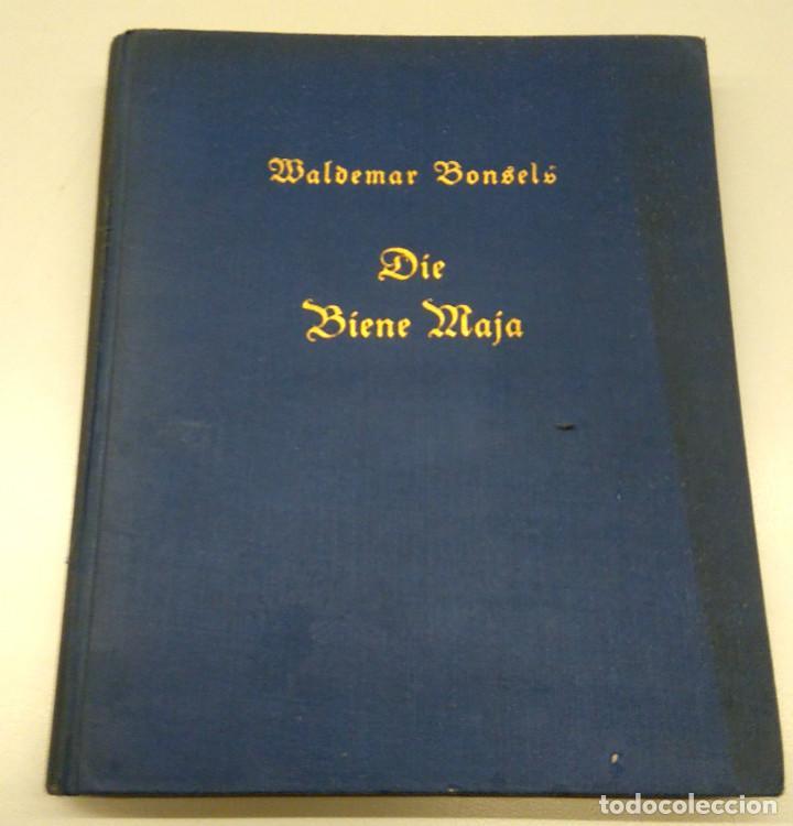 Libros antiguos: CUENTO INFANTIL,LA ABEJA MAYA,PRIMERA EDICION MUNDIAL,AÑO 1912,EDITADO EN ALEMANIA,DIE BIENE MAJA. - Foto 4 - 64594879