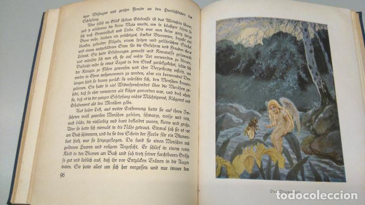 Libros antiguos: CUENTO INFANTIL,LA ABEJA MAYA,PRIMERA EDICION MUNDIAL,AÑO 1912,EDITADO EN ALEMANIA,DIE BIENE MAJA. - Foto 7 - 64594879