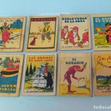 Libros antiguos: LOTE DE 8 CUENTOS DE CALLEJA,COLECCIÓN JOYAS PARA NIÑOS 1915. Lote 66488878