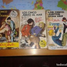Libros antiguos: LOTE DE TRES LIBROS DE ENID BLYTON. Lote 66632918