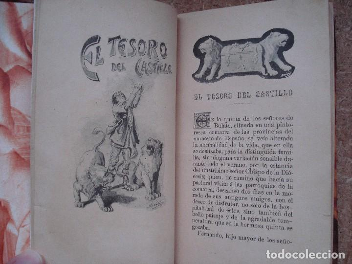Libros antiguos: ¡¡¡Muy muy raro y bonito!!! El tesoro del castillo [ca. 1900] / por N. S. M. Pons y Cª. Ilustrado. - Foto 9 - 66943366