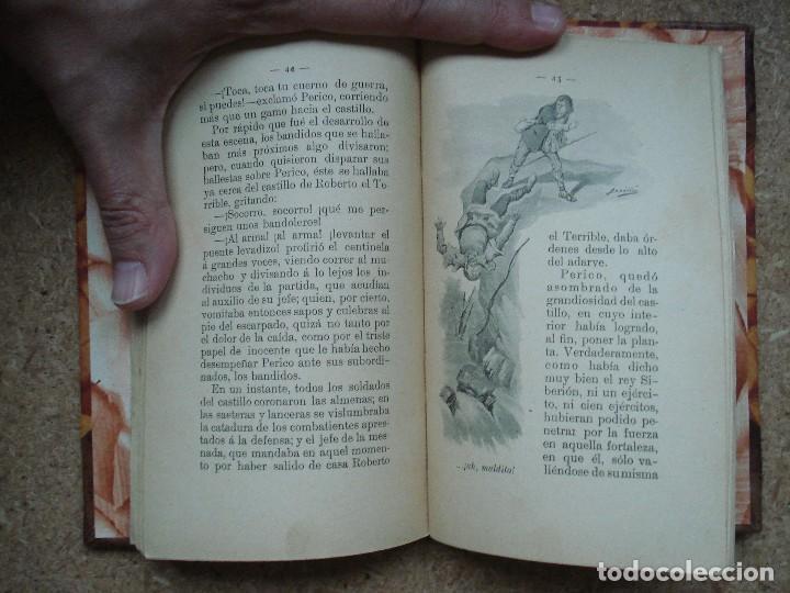 Libros antiguos: ¡¡¡Muy muy raro y bonito!!! El tesoro del castillo [ca. 1900] / por N. S. M. Pons y Cª. Ilustrado. - Foto 13 - 66943366