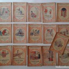 Libros antiguos: 16 LIBROS DE COLECCIÓN NARRACIONES ROSA PARA LA JUVENTUD, ED. JUVENTUD. RAROS.1930.. Lote 67138501