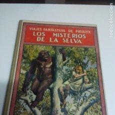 Libros antiguos - Los misterios de la selva. Ed Ramón Sopena.Biblioteca para niños - 67305709