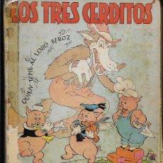 Libros antiguos: LOS TRES CERDITOS (DISNEY 1935 ). Lote 68798149