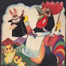 Libros antiguos: CUENTO TROQUELADO SERIE ANIMALITOS EDICIONES TORAY EL GALLO KIKO. Lote 69862857