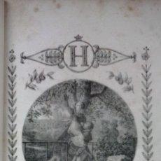Libros antiguos: ABÉCÉDAIRE DES PETITS GOURMANDS (1822) / MADAME DUFRENOY. GRABADOS LITOGRÁFICOS ¡¡¡MUY RARO!!!. Lote 69962101