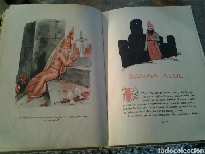 Libros antiguos: Cuentos de Perrault biblioteca perla editorial Saturnino Calleja ilustraciones de Penagos.17x23cms. - Foto 4 - 70002193
