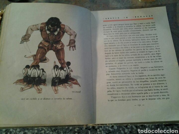 Libros antiguos: Cuentos de Perrault biblioteca perla editorial Saturnino Calleja ilustraciones de Penagos.17x23cms. - Foto 5 - 70002193