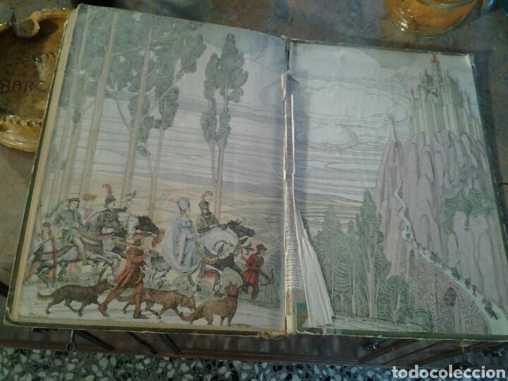 Libros antiguos: Cuentos de Perrault biblioteca perla editorial Saturnino Calleja ilustraciones de Penagos.17x23cms. - Foto 6 - 70002193