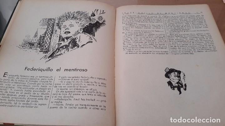 Libros antiguos: CUENTOS POPULARES SUIZOS ORIGINALES DE ANNA KELLER. ILUSTRACIONES JESÚS BLANCO. EDITORIAL MOLINO - Foto 2 - 72214839