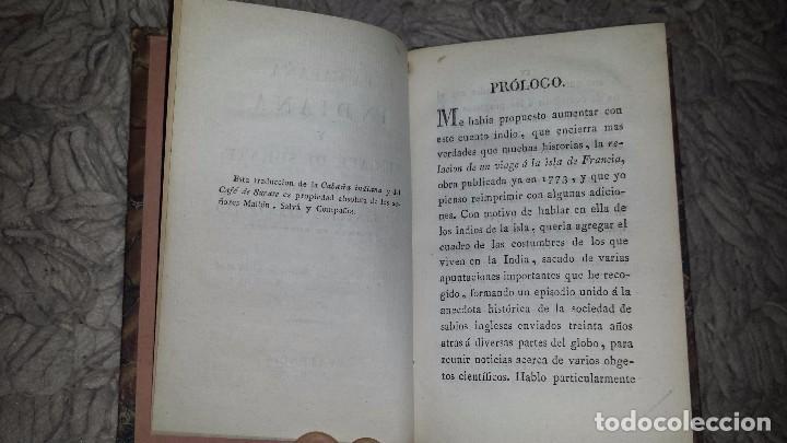 Libros antiguos: La Cabaña Indiana y el Café de Surate. Cuentos de Santiago Bernardino. (1820) - Foto 2 - 72425959