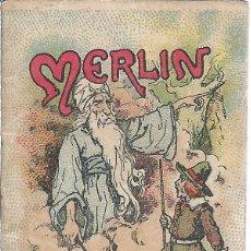 Libros antiguos: 9039- CUENTOS DE CALLEJA: MERLIN- ORIGINAL ANTIGÜO. Lote 73576959