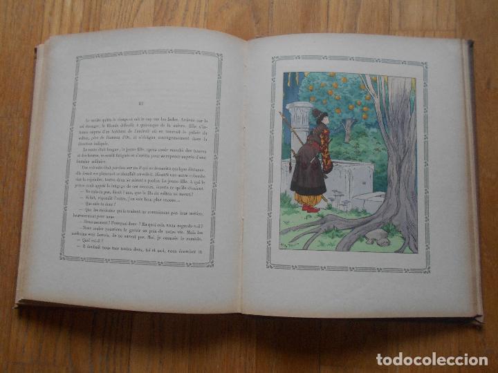 Libros antiguos: CONTES BLEUS, De ma mere Grand Charles Robert Dumas, 1913 EN FRANCES modernismo - Foto 4 - 73617851