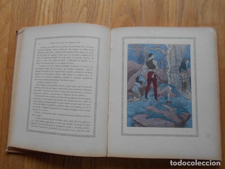 Libros antiguos: CONTES BLEUS, De ma mere Grand Charles Robert Dumas, 1913 EN FRANCES modernismo - Foto 5 - 73617851