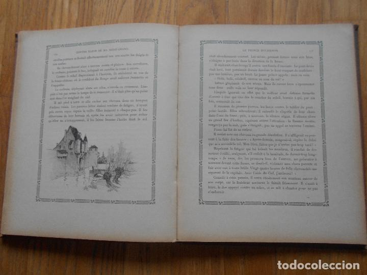 Libros antiguos: CONTES BLEUS, De ma mere Grand Charles Robert Dumas, 1913 EN FRANCES modernismo - Foto 7 - 73617851