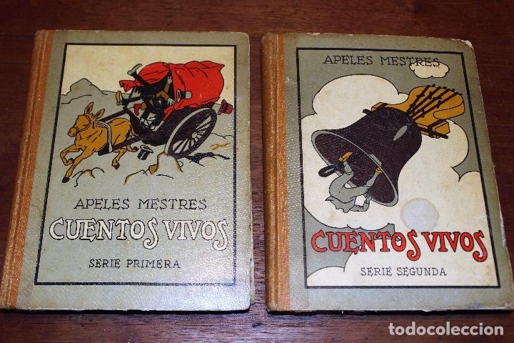 CUENTOS VIVOS ILUSTRADOS POR APELES MESTRES 1929 ( LIBROS ILUSTRADOS INFANTILES) APEL·LES MESTRES (Libros Antiguos, Raros y Curiosos - Literatura Infantil y Juvenil - Cuentos)